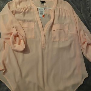 Brand new women's business blouse